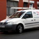 Gas Safe Van Paul Hibberd