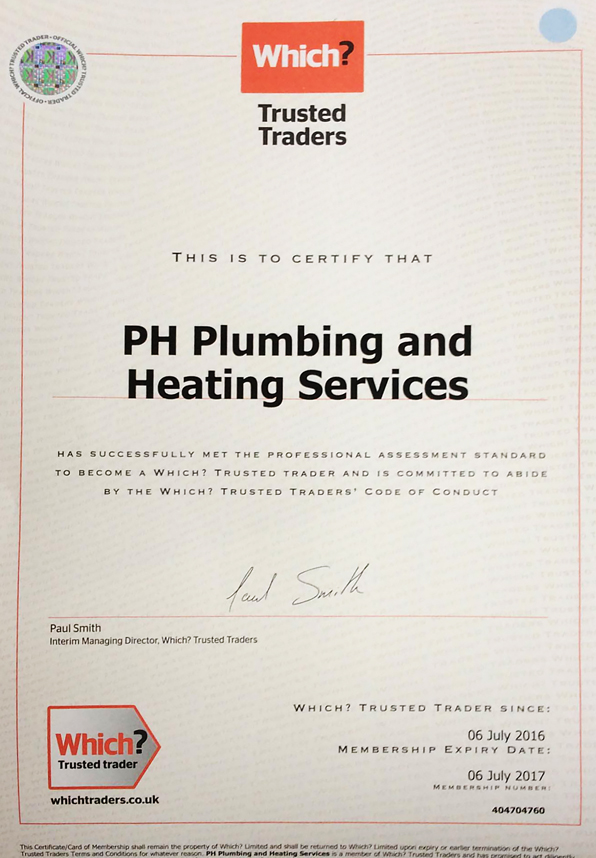 PH Plumbing Which Trusted Traders