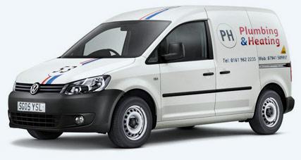 PH Plumbing van